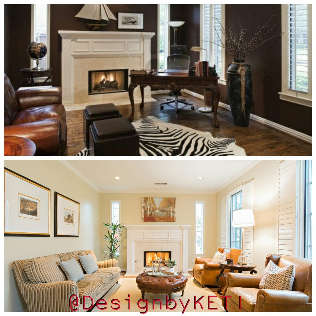 Formal Living Room Home Staging