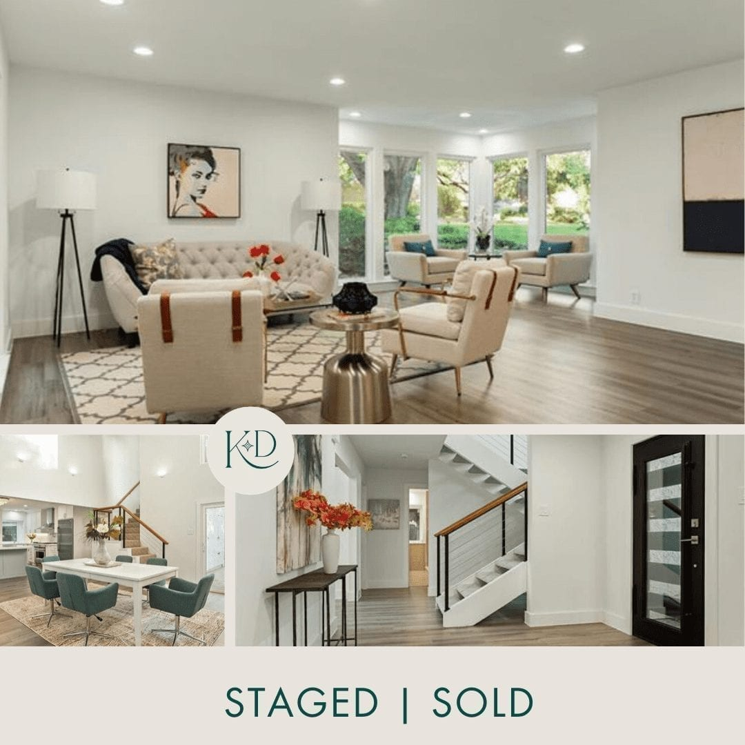 Lake Highlands Luxury Home Staging