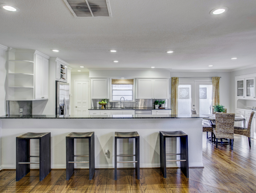 design by keti dallas home staging roi case study revived kitchen and breakfast nook