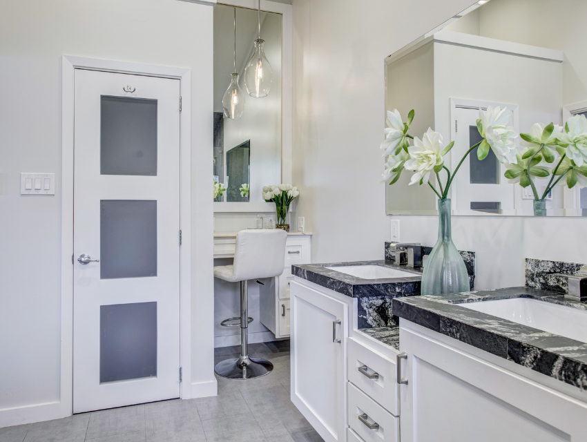 design by keti dallas home staging roi case study updated light fixtures and seated vanity