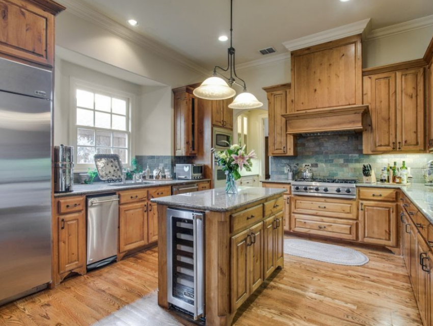dallas home kitchen before renovations property listing real estate market dated