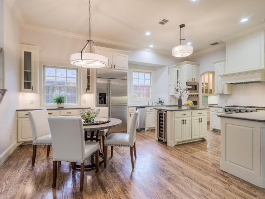 Dallas home kitchen hardware modern lighting updated to sell design by keti