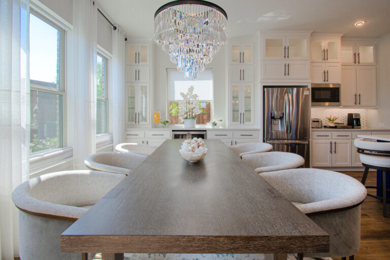 Dining Room Design by Keti Abazi
