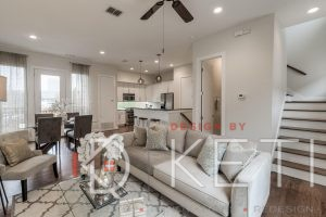 vacant staging open concept
